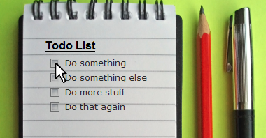 put your todo list where your email is